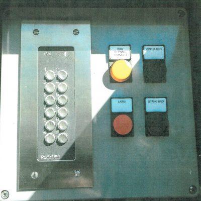 Bro kontrollskåp